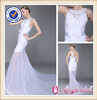 SA3353 Made Designer Lace and Tulle Mermaid Wedding Dress with Bow Detail