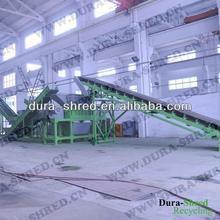 High quality tire shredding machine before pyrolysis equipment