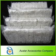 Bulk 4 rows crystal elastic rhinestone napkin ring for wedding,chair wrap