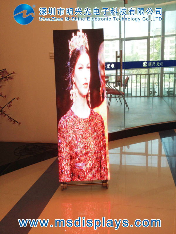 new products outdoor standing led display P4 manufacturer