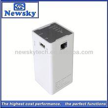 Mini Portable 11200MAH Battery 6 in 1 wireless networking equipment