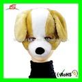 D776 cão de pelúcia máscaras de Halloween animado com som