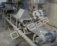 belt conveyors, screw conveyors, bucket elevators