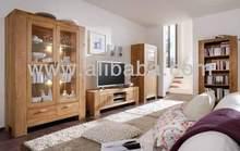 Solid oak living room cabinet furniture