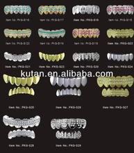 Supply fashion custom teeth grillz ,hip hop jewelry