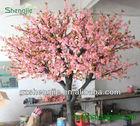 guangzhou manufacturer wholesale cheap decorative fake artificial pink indoor cherry blossom sakura flower tree