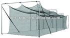 PE/HDPE 70*12*12 baseball batting cage, PE batting cage