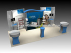 frameless booth / trade show booth customize size, item-69002 also provide printing service, easy chang picture
