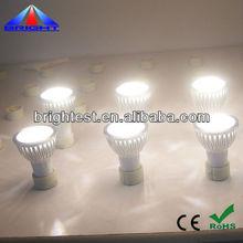 GU10 SMD 3528 led spotlight IP50 led spotlight 100-240V/AC 2years warranty ce rohs