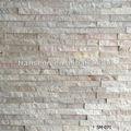 Extérieur et intérieur mur pierre naturelle mosaïque revêtement pour hôtel pont