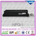 Kompatible toner-kit npg-1 für canon np-2000/2010/2020 kopierer