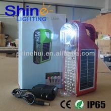 flashlight solar camping led lantern with 6 led lanterns
