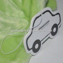 Customized promotional advertising car shape air freshener
