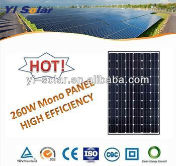 260W Mono Solar Panel