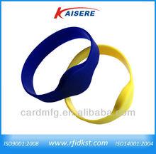 men rfid watch/ long distance smart wrist watch/silicone bracelet