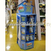 fruit candy cardboard promotional clothing shops display stands