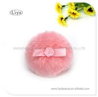 Comfortable Feather Powder Puff Plush Cosmetic Puff Boa Puff