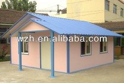 Short time living prefab house fast installed