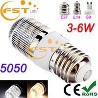 Hot sale 4W SMD5050 85-265V 340lm 24pcs Mobile g9