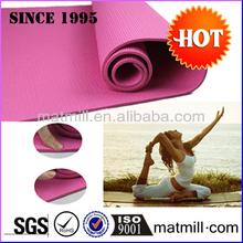 GYM/yoga clubs equipment professional PVC yoga mat best earthing mat pvc foam yoga mats