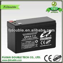 ups storage battery, batterie 12v,12-volt 7.2 ah sla sealed lead acid battery with CE,ISO