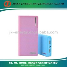 External Rechargeable 12000mAh/20000mAh Dual USB Potable Power Bank for samsung galaxy s3