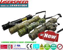 100mw LASER LIGHT/subzero hunting gun mounted 100mw green gun accessories laser illuminator