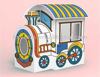 beautiful train foldable big paper painting playroom for sale next top model