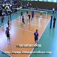 Volleyball Game Pvc Vinyl Flooring Mats