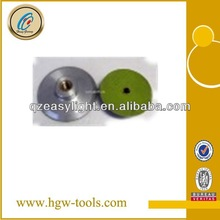 80mm 100mm 150mm aluminum & plastic backing pad for polishing pad sale