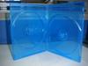 PP 7mm dvd case cd box holder black blue ray cases double