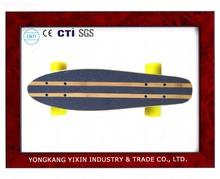 "22"" inch ABEC-7 bearing blank bamboo skateboard decks supplier"