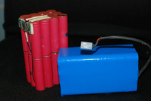 18650 rechargeable lithium battery pack use Sanyoo cell for Civil counter dedicated pack