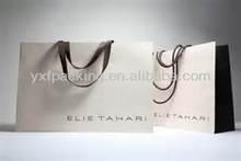Paper Shopper Bag for Scarves