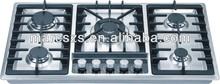 LPG/NG cooktops high efficiency Built In stainless envirmental gas stove MSS-90B54
