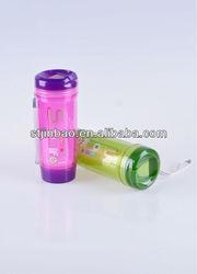 Promotional gift LFGB Standard 400ml 2 layer BPA Free Water Bottle Plastic