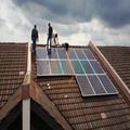 la electricidad solar sistema de generación para el hogar