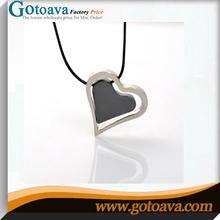 Black Heart Shape Hight-quality men neck chain