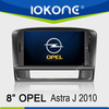 Double din In dash Autoradio GPS system touch screen for Opel Astra J 2010