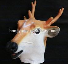 Realista la cabeza de los ciervos de Chrismas de año nuevo favores de la fiesta para carnaval