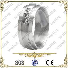 Shenzhen CZ Stone stainless steeel ring jewelry wholesale jewelry in malaysia
