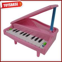 Mini plastic battery operated keyboard piano
