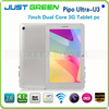 New Arrival!PiPO U3 Android OS Rockchip RK3066 Dual Core 1.6GHz RAM 1GB ROM 16GB 7 Inch IPS Screen WCDMA 3G Built in Tablet PC