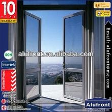 Top Grade 50 Series Aluminum Swing door made in China