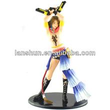 "Final Fantasy X-2 YUNA 1/6 Scale Soft Vinyl Statue 25cm/9.8"" Figure Toy Loose"