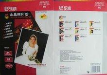 Glossy Inkjet Photo Sticker Paper,weight 135g 150g