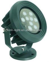 High power led par light(9*3W ,RGB ,DC12V,IP65,36W)use special dmx controller (G010)