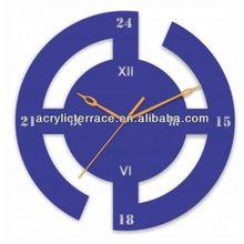 Acrylic Clock /fashion acrylic slat wall colck