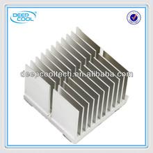 OEM customized extruded aluminium heat sink for power amplifier