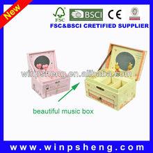 souvenir gift music box/music novelties and gifts